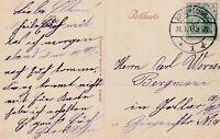Ansichtskarte Braunschweig Burgplatz Jahr 1913 verschickt nach Goslar