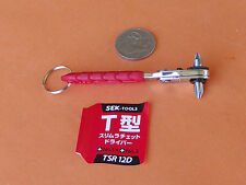 RIGHT ANGLE RATCHET SCREWDRIVER PHILLIPS #1 & #2 S.E.K. MADE IN JAPAN QUALITY!!