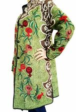 Pomegranate Embroidery Fashion Robe Dress Frock Coat Jacket SALE WAS $275.00