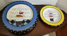 Lot Of 4 Jennifer Brinley Certified International Chef Plates