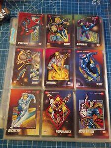 1992 Impel Marvel Universe Series 3 Complete 200 Cards Base Set