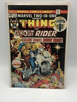 Marvel Two-In-One #8 (Marvel 1974) Early Ghost Rider Appearance! C6