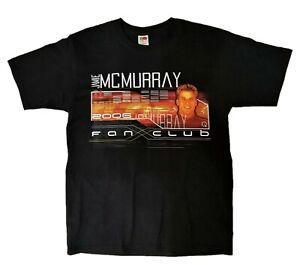 Jamie McMurray NASCAR Black Fan Club Graphic T Shirt Size L Large 2006 NWOTS