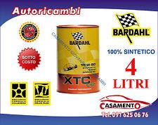 4 LT LITRI OLIO MOTORE AUTO BARDAHL XTC C60 15W50 POLAR PLUS FULLERENE