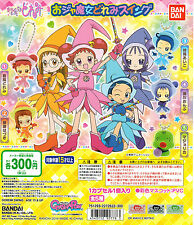 BANDAI OJAMAJO MAGICAL DOREMI FIGURE GASHAPON SWING SET OF 5pcs