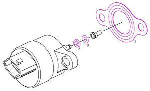 Original Bosch Dichtsatz F01M100278 für Zumesseinheit von CP1S3 Hochdruckpumpen