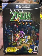 Legend of Zelda: Four Swords Adventures Big Box - BOX ONLY
