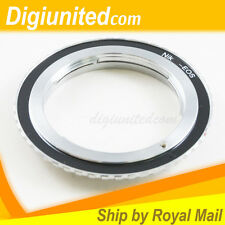 Professional Nikon F mount AI lens to Canon EOS EF mount adapter 5D III 60D 760D
