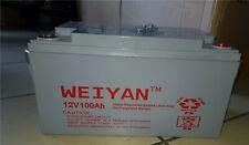 batteria 12vl per kit fotovoltaico 100 ah 120 ah per accumulo pannello solare