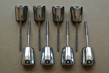 SET of 8!!! PEARL T-RODS & CLAWS for YOUR VISION SERIES BASS DRUM!!! LOT #B177
