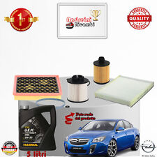 Replacement Filter Kit+Oil Opel Insignia 2.0 CDTI 96KW 130CV from 2010 ->