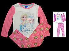 Pyjama Schlafanzug Eisprinzessin Frozen 104 110 116 128 Elsa Anna Set NEU Disney