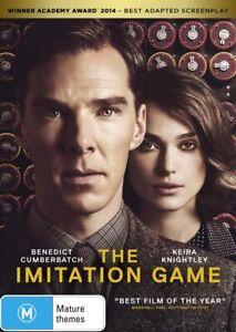 The Imitation Game DVD, NEW SEALED AUSTRALIAN RELEASE REGION 4
