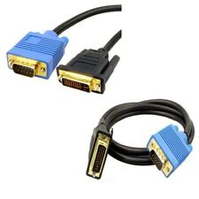 3M DVI-I Male to VGA Male HD Video Converter Adapter Cable TFT monitor PC NEW