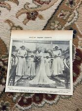 b2-7 ephemera 1930 picture bobby's cliftonville mannequin parade bride