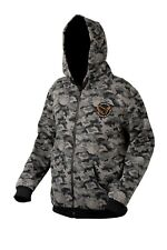 SAVAGE GEAR BLACK SAVAGE ZIP HOODIE SWEAT JACKET FISHING PREDATOR WALKING PIKE