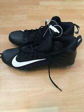 Nike Alpha Menace Pro Mid Men's black football cleats Size 13