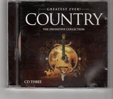 (HP547) Greatest Ever! Country - disc 3 only - 2006 CD