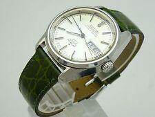 Vintage 1972 JAPAN KING SEIKO CHRONOMETER WEEKDATER 5626-7040 25Jewels Automatic