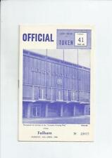 Second Division Home Team Leeds United Football Programmes
