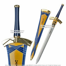 Fate/Stay Night Saber Lily Excaliber Anime Sword Dagger Cosplay Prop Replica