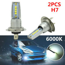 2pcs 6000K 55W White H7 LED Bulb Canbus Car SUV Fog Light Lamp Fit for BMW Honda