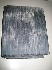"Tommy Bahama Indigo Blue Ombre Stripe Lined Pole Top Drapery Panels 4pc 84"" NEW"