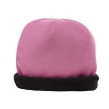 Fleece Beanie Hats - Fully Reversible - Lots of Colors - Great for Walk/Run/Ski