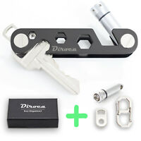 Key Organizer | Multi Purpose Key Holder | Smart & Compact Case | 5-in-1 tools