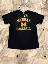 University Of Michigan Baseball Shirt- Size Large