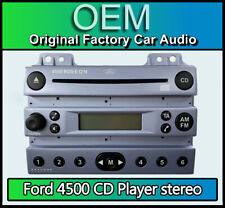 Ford 4500 CD player, Ford Fusion car stereo Blue radio supplied with code