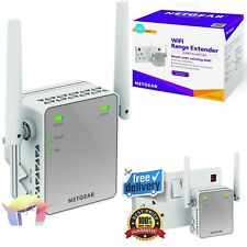 WiFi Extender Plug In Booster Internet Wireless Range Router Network Netgear NEW