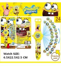 24 Spongebob Squarepants Patrick Projector Projection Light Wrist Watch Toy Game