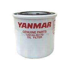 Genuine Yanmar Marine Oil Filter 4JH-HTE / 4JH2-HTE - 129150-35170