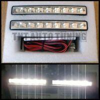 Feux de Jour Diurne DRL Eclairage Lampe LED 2x4W VW Touareg Tiguan Touran Caddy