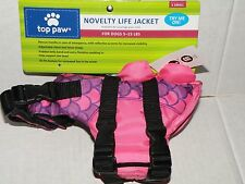 TOP PAW NOVELTY LIFE JACKET FOR DOGS 5-15 LBS SIZE X-SMALL NEW WITH TAGS