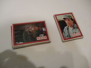 1982  MASH base card set.