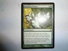 MTG MAGIC THE GATHERING CARD ORIGINAL RAVNICA DOUBLING SEASON RARE VINTAGE GREEN