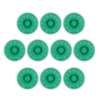 10 Pcs Speed Control Knobs Guitar Control Knob Green for Guitar Parts