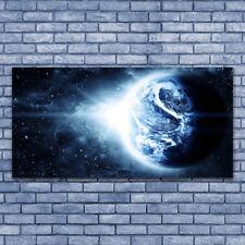 Acrylglasbilder Wandbilder aus Plexiglas® 140x70 Erdball Weltall