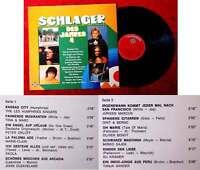 LP Schlager des Jahres 4 (Telefunken NT 839) D 1974