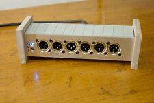 Ultra Compact XLR Splitter (1x12), for Telex/RTS Intercom w/ power LED's