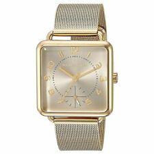 Michael Kors Women's Brenner Gold-tone Mesh Bracelet Watch 31x31mm MK3663