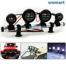 1/10 New RC LED Light Bar 6~7.4V JR Plug for RC 4WD Axial Crawler Truck Upgrade