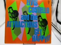 Elvis Costello And The Attractions Get Happy 1980, Columbia JC 36347, VG++ c VG+