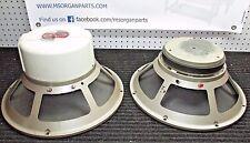 """Pair of Vintage EV SRO 15"""" speakers - one good, one needs recone Hi Fi Guitar"""