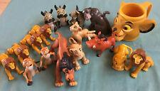 Disney Lion King PVC Action Figures Toy Lot 17 Pcs.