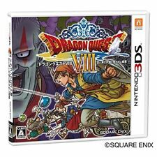 Used 3DS Dragon Quest VIII Import Japan