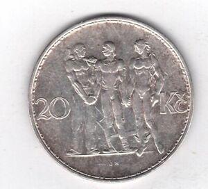 Tschechien S 11 KM 17: 20 Kronen collector Sammler coin (2)