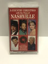 A Country Christmas With The Stars Of Nashville Cassette Tape 1993 Ally Cat Rec